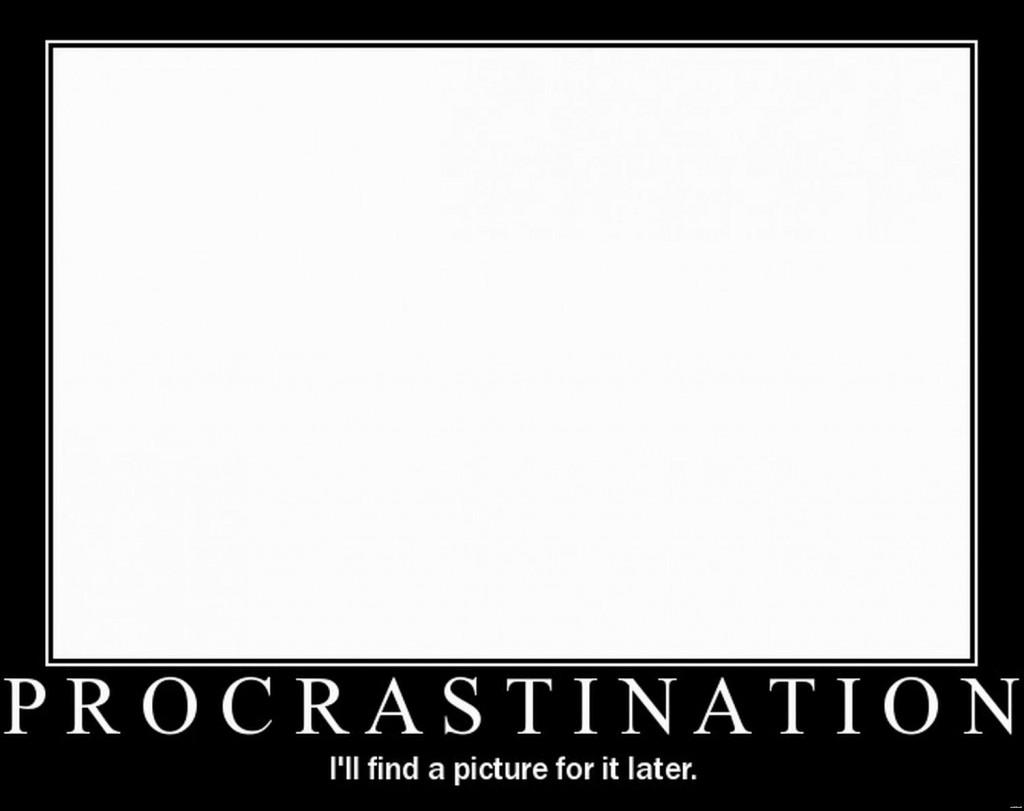 defining procrastination