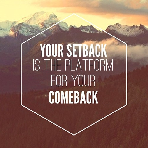 Dealing with Setbacks